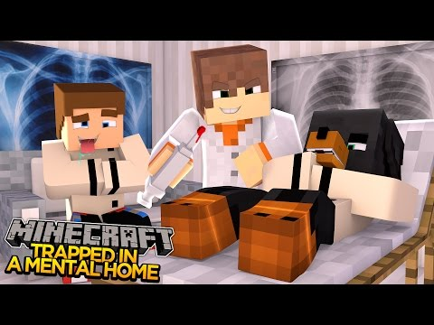 Minecraft - Donut the Dog Adventures -TRAPPED IN A MENTAL WARD!!
