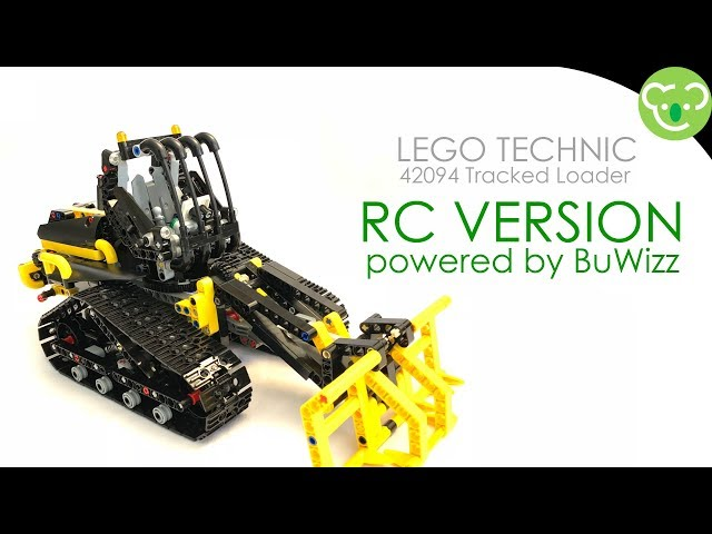 Lego 42094 Tracked Loader - RC Mod powered by BuWizz