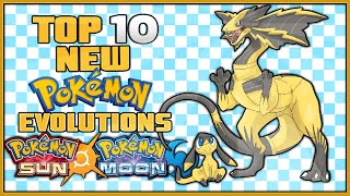 One of Jethrotex's most viewed videos: Top 10 New Pokémon Evolutions for Pokémon Sun and Pokémon Moon