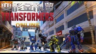 Transformers ONLINE.  Начало. Обзор игры. #1