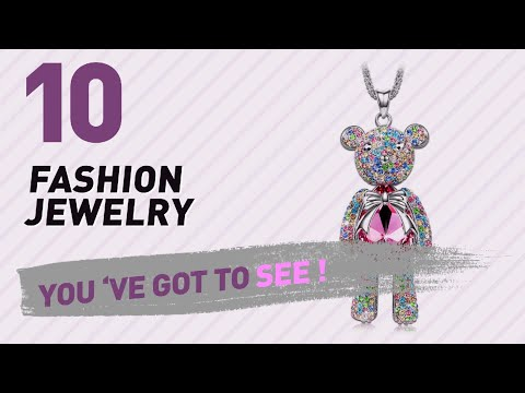 Fashion Jewelry Collection // Most Popular 2017