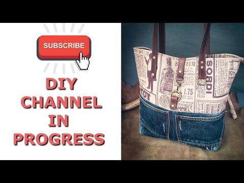 DIY Crafts Channel In Progress! Leather, Wood, Fabric Tutorials