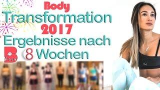 Abnehmen 2017 - Ergebnisse nach 8 Wochen - Tolle Ergebnisse - BodyShape - Online Fitnessprogramm