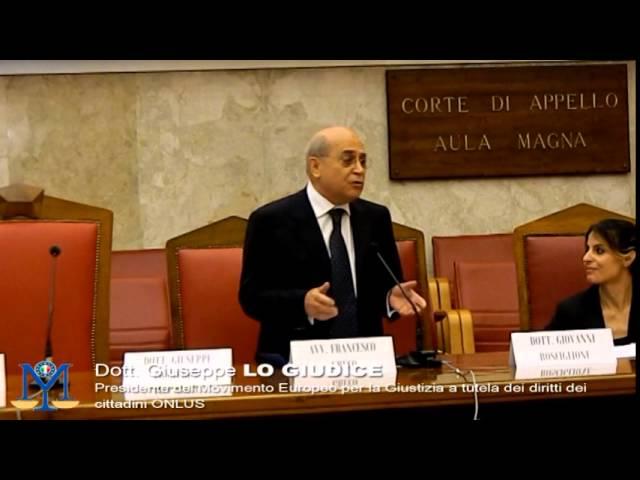 MEG Onlus Verso gli Stati Uniti D'Europa Introduzione Giuseppe Lo Giudice e Giovanni Rosciglione