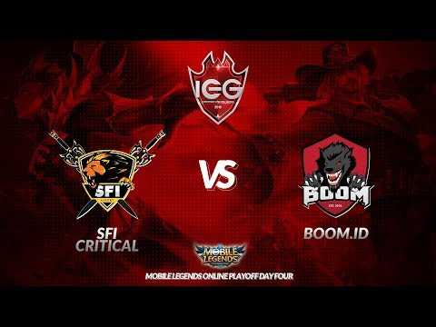 [MLBB] BOOM.ID Vs SFI Critical (BO3) - Indonesia Esports Games 2018 Playoff Day 4