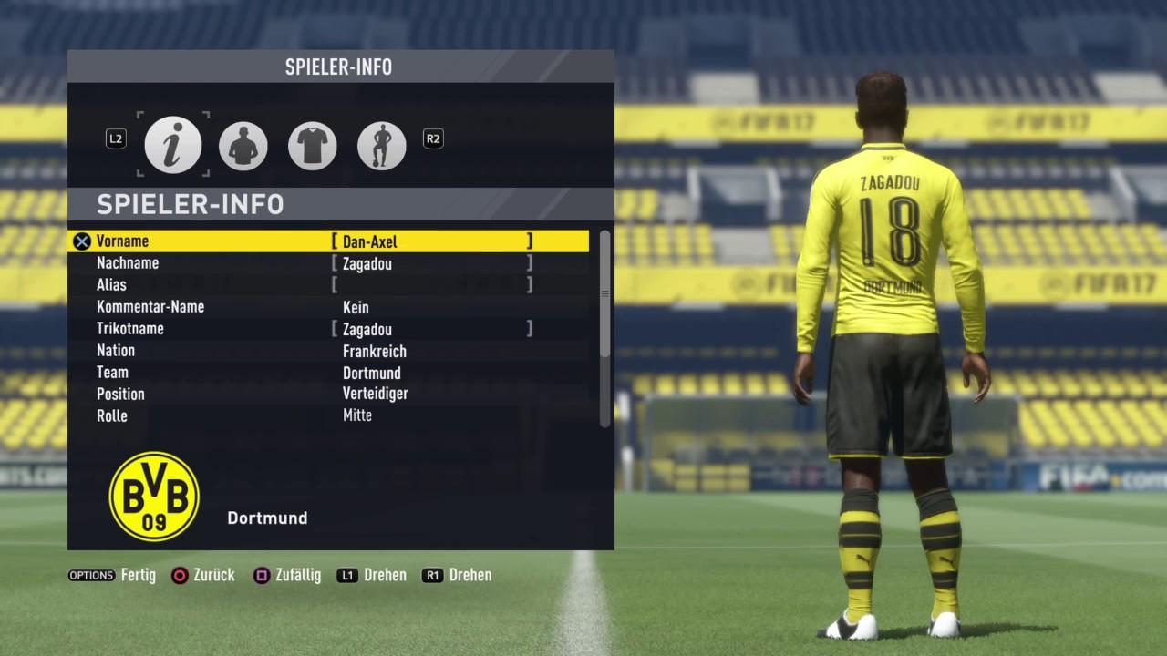 Dan Axel Zagadou Fifa 17