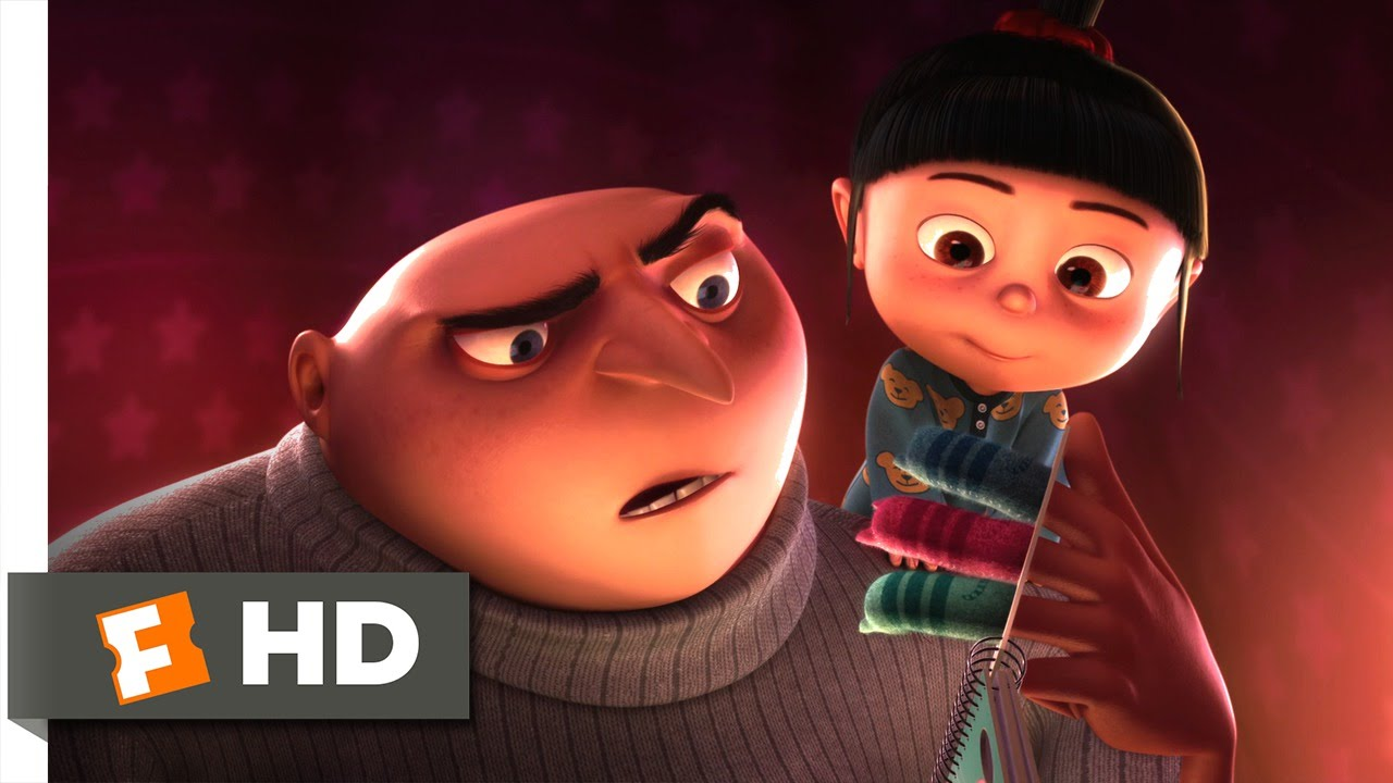 Despicable me 10 11 movie clip bedtime story 2010 hd youtube - Despicable me hd images ...