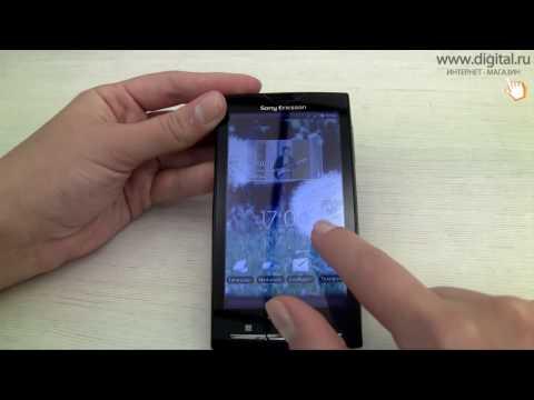 Видеообзор смартфона Sony Ericsson Xperia X10