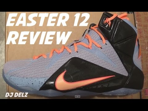 new products 646cd d0864 Nike Lebron 12 Easter