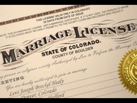 Is it possible to marry without a license? Yes, here's how: