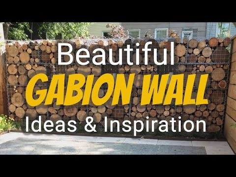 Beautiful Gabion Wall Ideas, Inspiration & Illustrations - YouTube