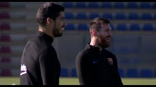 BARCELONA Last Training VS JUVENTUS !!!