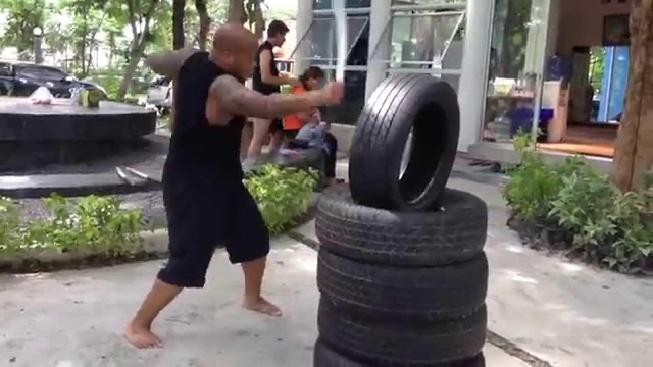 Training Muay Thai Krabi Krabong Practice Sword Trainer Set Thai Black Ops Red
