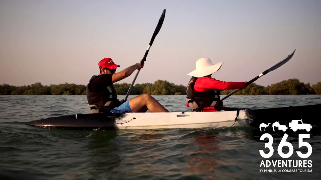 Living With Nature in Qatar | Al Thakhira Mangroves | Kayaking ...