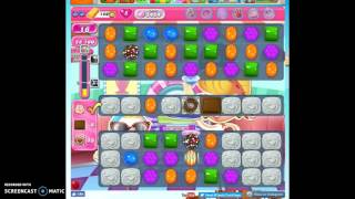 Candy Crush Level 1454 help w/audio tips, hints, tricks