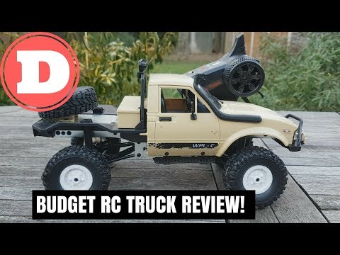 Mini RC Truck WPL C14 1:16 2.4G In-Depth Review - Budget RC Truck