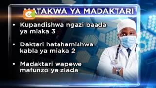Mazungumzo ya kutafutia mgomo wa madaktari suluhu yaanza