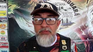 Dr  Galvão fala da motivação de realizar o 4° Encontro do Grupo Moto Clube Jaguará