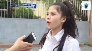 Xôn xao clip học sinh Huế chế nhạo kỳ thi THPT quốc gia 2016