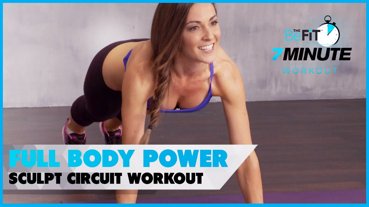 Full Body Power Sculpt Circuit Workout Courtney Prather Youtube The Totalbody You Can Do While Travel