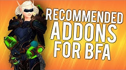 10 Most Useful/Recommended Addons For BFA - WoW: Battle For Azeroth 8.1
