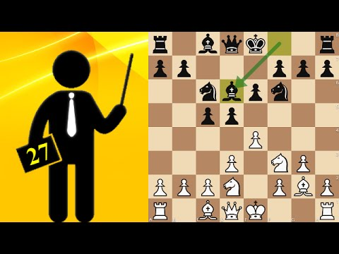 Standard chess game #27 - King's Indian Attack