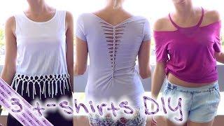 DIY | 3 t-shirts à faire soi-même ! thumbnail