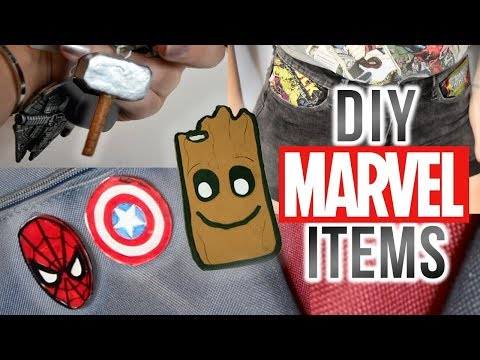 DIY MARVEL ACCESSORIES | easy & cheap!