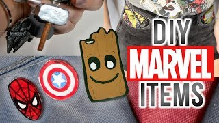 DIY MARVEL ACCESSORIES   easy & cheap!