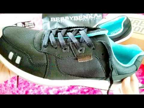 unboxing + on feet sepatu 3SECOND