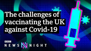 Coronavirus: What will it take to convince the UK to get vaccinated? - BBC Newsnight
