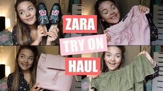 ZARA TRY ON HAUL! | SUMMER CLOTHES & ACCESSORIES
