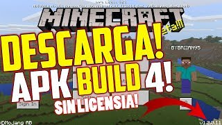 MINECRAFT POCKET EDITION 1.2.0.11 BUILD 4