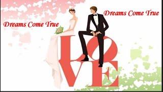 Dreams Come True Wedding Song Line Dance Demo
