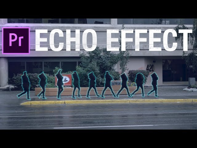 How to Create Smooth Motion Trail Video ECHO EFFECTS in Adobe Premiere Pro (CC 2017 Tutorial)