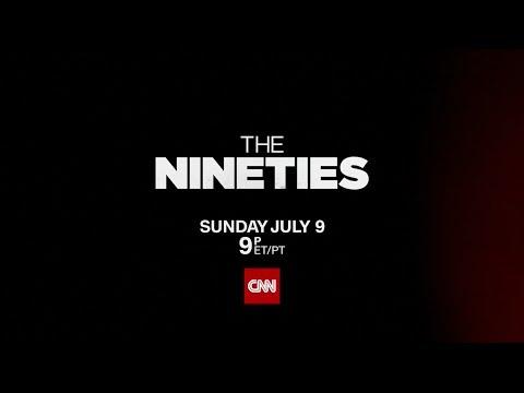 """CNN USA: """"The Nineties"""" promo"""