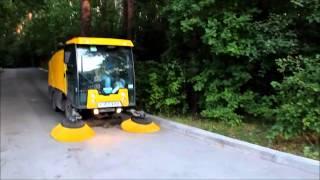 Уборка вакуумно-уборочная машиной (пылесос)