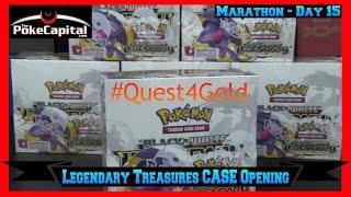 Pokemon Cards Booster Box Opening Marathon Legendary Treasures Case - Day 15