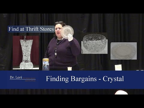 Secrets To Value Antique Crystal And Glass By Dr. Lori