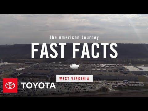 American Journey – West Virginia Inforgraphics | Toyota
