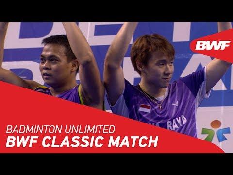 Badminton Unlimited 2018 | BWF Classic Match - Gideon/Kido vs Koo/Tan | BWF 2018