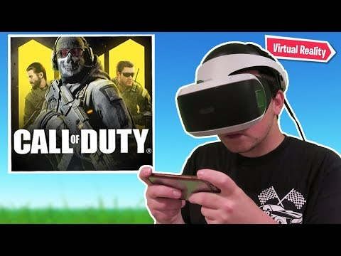 Call Of Duty Mobile In VR.. (Virtual Reality)
