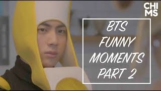 BTS TRY NOT TO LAUGH #2 (eng sub)