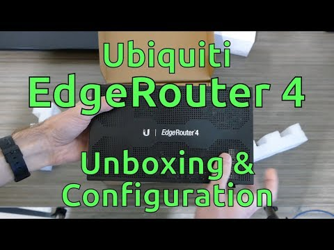 Ubiquiti EdgeRouter 4 Unboxing & Configuration - YouTube