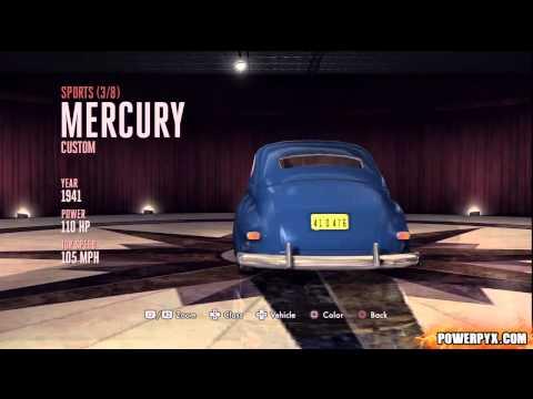 L.A. Noire - All Vehicles