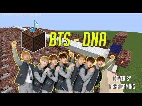 BTS - DNA ( NOTE BLOCK MINECRAFT VERSION )
