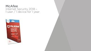 McAfee Internet Security 2018 - 1 year for 1 device | Product Overview | Currys PC World