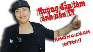 Hướng Dẫn Làm Ảnh Bìa Youtube Giống NTN trong vòng 3 phút - Khang Lee