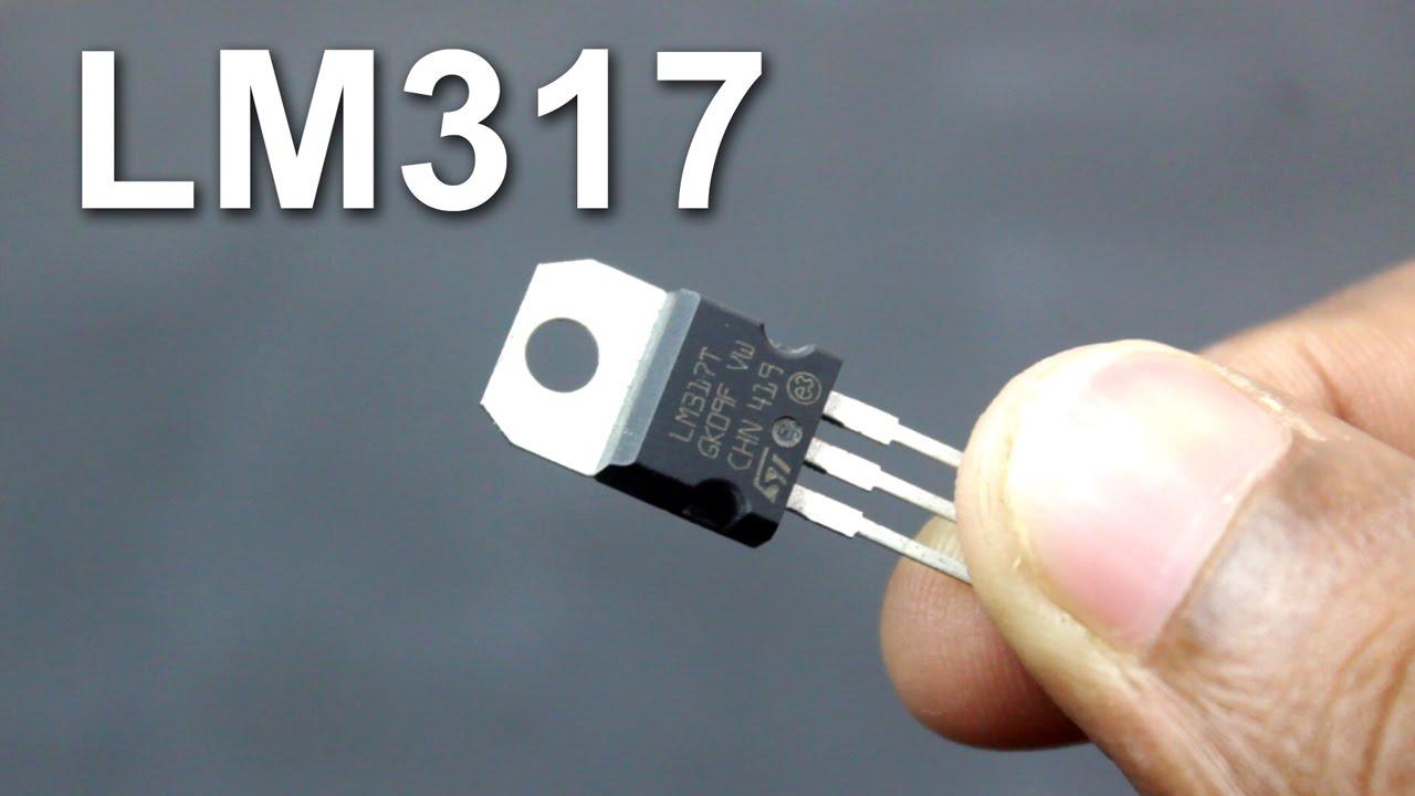Lm317t Adjustable Voltage Regulator Youtube Lm317 Schematic