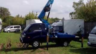Автовышка DASAN DS 180S на базе KIA BONGO 3 (18 м .) 4WD(Компании Saphireavto является поставка и продажа грузовиков, автобусов и микроавтобусов, строительной и специал..., 2013-08-31T14:53:53.000Z)